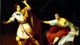 'José y la mujer de Putifar'. Óleo sobre lienzo. 196,5x245,3 cm. Museumslandschaft Hessen Kassel, Gemäldegalerie Alte Meister, Kassel.