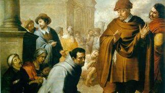 'San Salvador de Horta y el inquisidor de Aragón'. Óleo sobre lienzo. 178x190 cm. Musée Bonnat, Bayona.