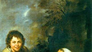 'Vieja gitana con niño'. Óleo sobre lienzo. 146,4x106,5 cm. Wallraf-Richartz-Museum & Fondation Corboud, Colonia.