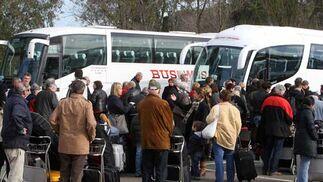 Numerosos vuelos han sido cancelados en el Aeropuerto de Jerez, incluido el Jerez-Viena que se inauguraba  Foto: Paco Periñan / Aguilar / Borja Benjumeda / Pascual/ JC Toro / Efe