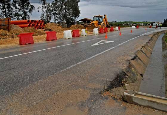 Obras de la Rana Verde en Chiclana de la Frontera