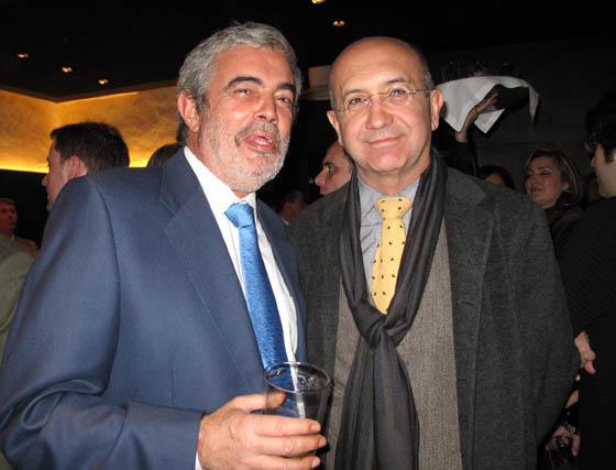 El urbanista Manuel Caramé, y Manuel Marchena, consejero delegado de Emasesa.  Foto: Victoria Ramírez