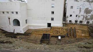 El proyecto de recuperación del coliseo romano en el barrio del Pópulo se reactiva con la próxima apertura del Centro de Interpretación  Foto: Jose Braza