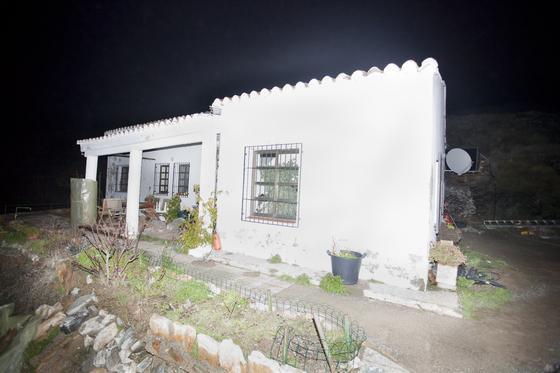 El cortijo Abulagar esta ubicado en la carretera que va de Castell de Ferro a Órgiva   Foto: Salvador Rodríguez