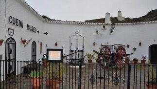 La cueva museo de Guadix también ha tenido que cerrar sus puertas  Foto: Ramón Ubric