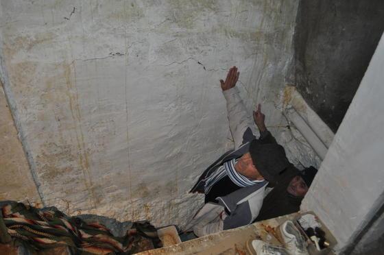 Las paredes se mueven en las viviendas de la comarca  Foto: Ramón Ubric
