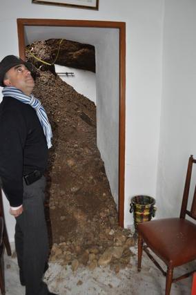 Los vecinos del Marchal temen por su integridad  Foto: Ramón Ubric