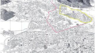 Mapa del colegio Acisclo y Victoria.