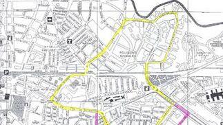 Mapa del colegio Alcalde Pedro Barbudo.