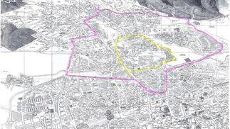 Mapa del colegio Almanzor.