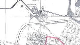 Mapa del colegio Arroyo del Moro.