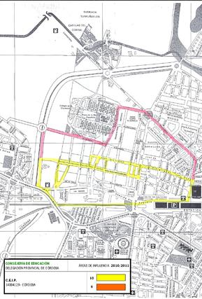 Mapa del colegio Arroyo.