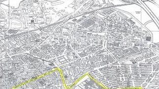 Mapa del colegio Fuensanta.