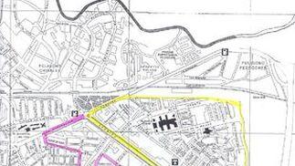 Mapa del colegio Juan Rufo.