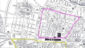 Mapa del colegio San Rafael.