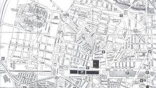 Mapa del colegio Santos Mártires.