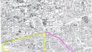 Mapa del colegio Nuestra Señora Linares.