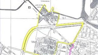 Mapa del colegio Tirso de Molina.