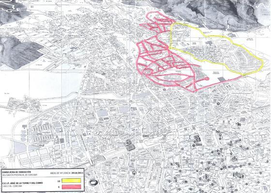 Mapa del colegio Torre y Cerro.