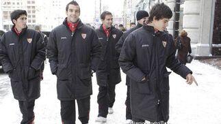 El frío será otro enemigo a batir por el Sevilla.  Foto: Antonio Pizarro