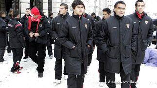Se esperan entre 10 y 15 grados bajo cero a la hora del partido.   Foto: Antonio Pizarro