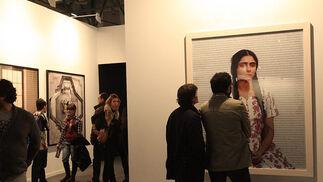 Una de las obras que se ha podido ver en la Feria de Arte.  Foto: Juan Carlos Toro