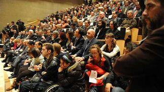 Entrega de premios de la Junta por el Día de Andalucía en el nuevo Centro de Congresos de San Fernando  Foto: Elias Pimentel