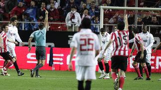 El Sevilla no pasa del empate en casa ante el Athletic de Bilbao. / Antonio Pizarro