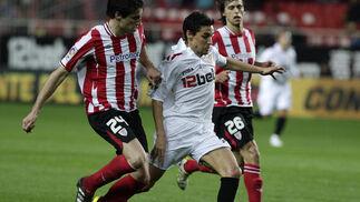 Las imágenes del Sevilla-Athletic de Bilbao