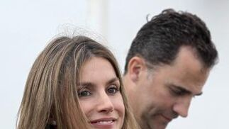 La princesa Letizia.   Foto: AFP PHOTOS