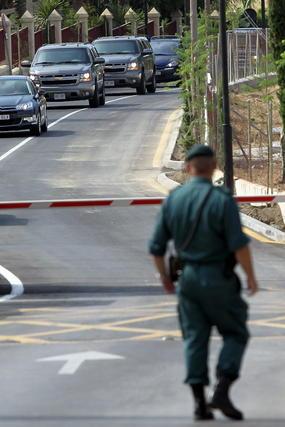 Michelle Obama y Sasha ya están en Málaga