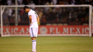 La era de Mourinho con el Real Madrid comenzó de forma triunfal después que el equipo español venciese por 2-3 a las Águilas del América de México, en partido amistoso disputado en el Candlestick Park de San Francisco.  Foto: REUTER