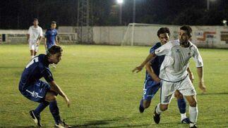 El conjunto azulino se impuso finalmente al Arcos con dos goles de Mario Bermejo  Foto: Ramon Aguilar