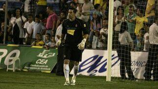 Kiko Casilla salió en lugar del lesionado Cristian Álvarez.   Foto: Jesus Marin