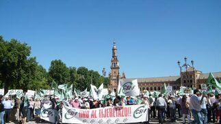 Manifestacion delegacion gobierno  Foto: CSIF