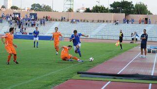 La primera parte resultó mucho más brillante que la segunda, en la que el Deportivo jugó a la contra  Foto: Elias Pimentel