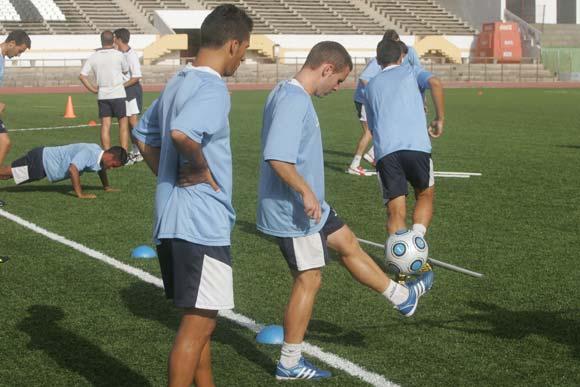 La Balona entrena duro pra la próxima temporada  Foto: J. M. Quinones
