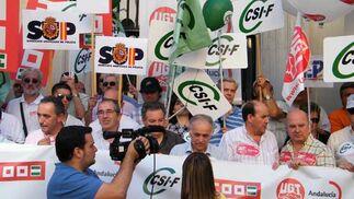 Concentración Hacienda - 20/05/2010  Foto: CSIF