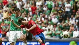 Las imágenes del México-Espana