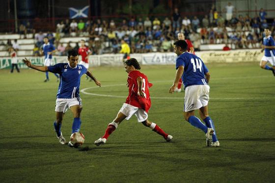 En el tercer encuentro, el Portuense se impuso al San Fernando (3-2).   Foto: Fito Carreto