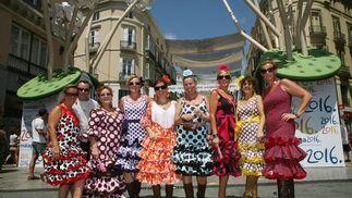 Así vive Málaga su Feria