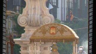 La procesión de la Virgen de los Reyes vista por Ruesga Bono.  Foto: Ruesga Bono