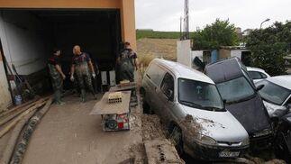 Violenta tromba de agua en Córdoba