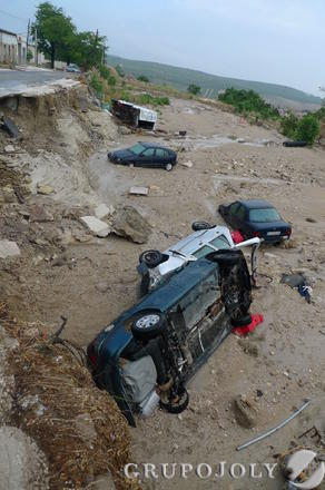 Tres fallecidos y numerosos daños materiales por las fuertes lluvias registradas en la provincia  Foto: GRUPO JOLY