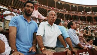 Fernando Sanz no quiso perderse la cita taurina.  Foto: Sergio Camacho