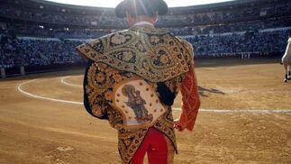 Tarde de toros de la ganadería de Juan Pedro Domecq, imagen previa al festejo.  Foto: Sergio Camacho
