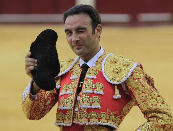 El diestro Enrique Ponce.  Foto: Sergio Camacho