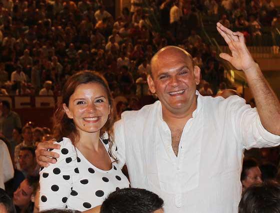 Catarina y Luis Lara.  Foto: Miguel Angel Gonzalez