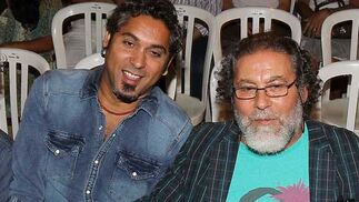 Curro y Diego Carrasco.  Foto: Miguel Angel Gonzalez