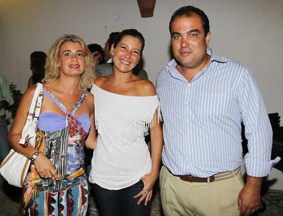 Inmaculada Malvido, Sara Baras y David Fernández.  Foto: Miguel Angel Gonzalez
